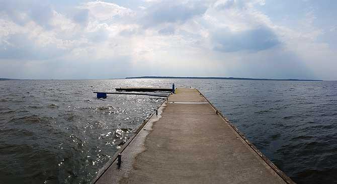 Hafen von Rankwitz auf Usedom