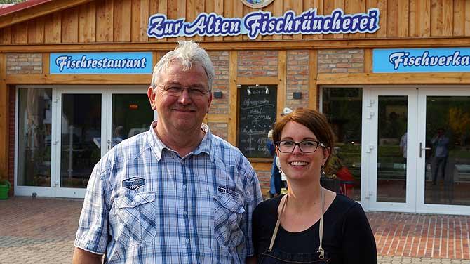Christin Reschke und ihr Papa Bernd