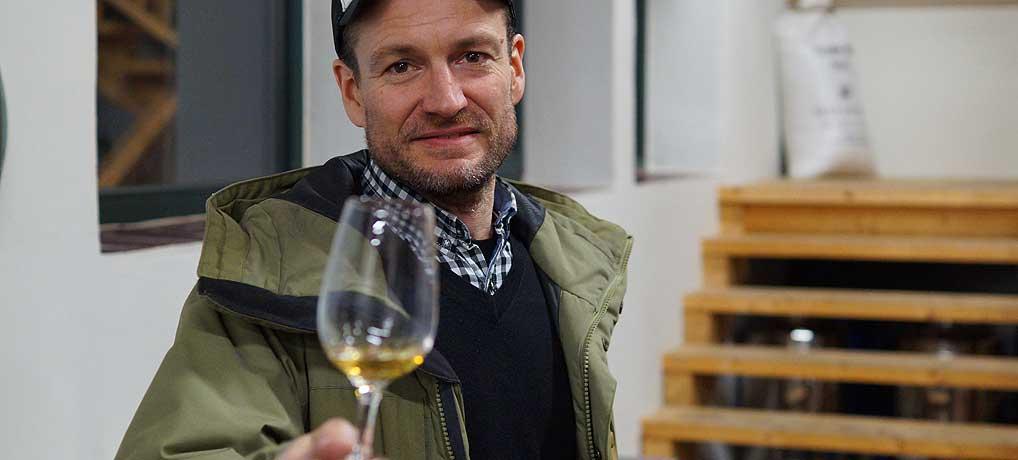 Bastian Heuser ist einer von drei Chefs der Spreewood Distillers