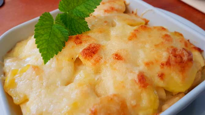 Kartoffelgratin a la Cafe Saisonal