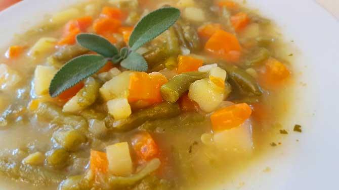 Gemüse-Suppe geht immer