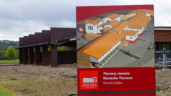Römische Thermen im Kulturpark