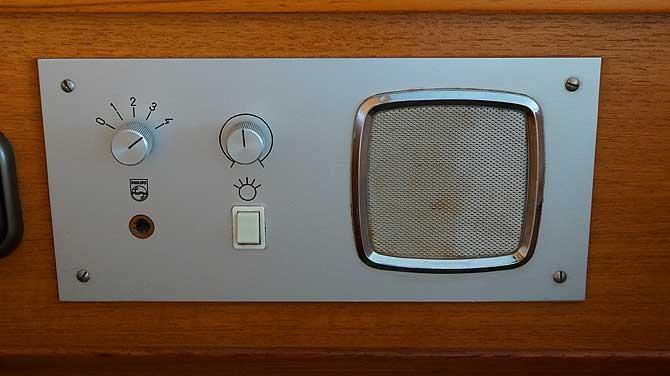 Radio im Zimmer