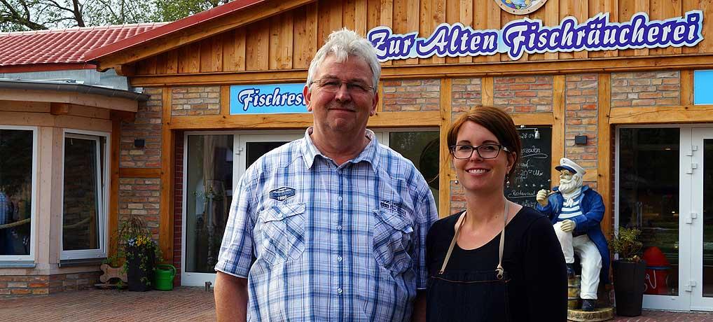 Die Alte Fischräucherei in Rankwitz ist ein echter Familienbetrieb
