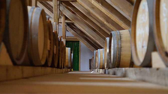 Dachboden der ehemaligen Scheune