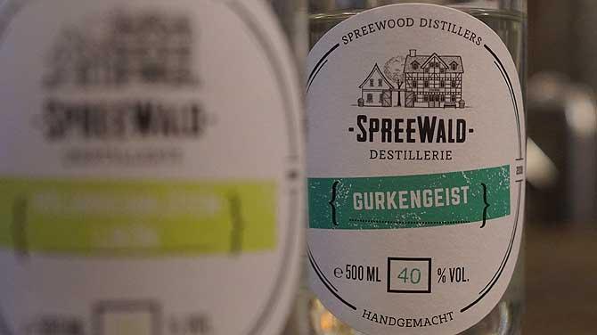 Gurkengeist von den Spreewood Distillers