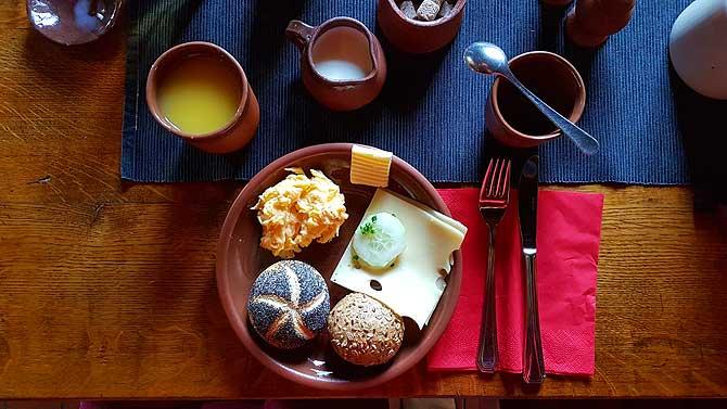 Frühstücken fast wie früher