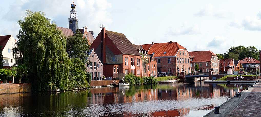 Um alle Sehenswürdigkeiten in Emden an der Nordsee zu sehen, reicht ein Tag