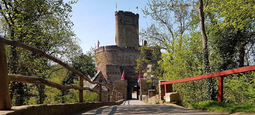 Die Ehrenburg Brodenbach ist ein tolles Ausflugsziel an der Mosel