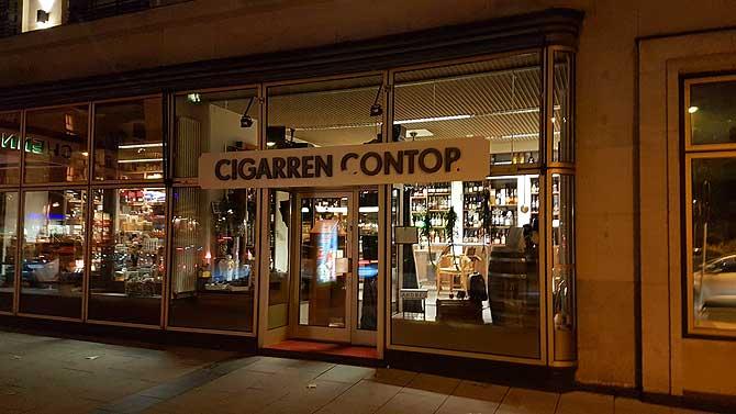 Eingang zum Cigarren Contor Chemnitz