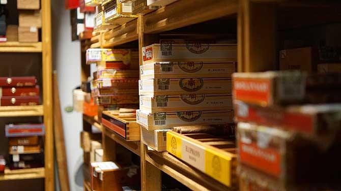 Starke Auswahl an Zigarren