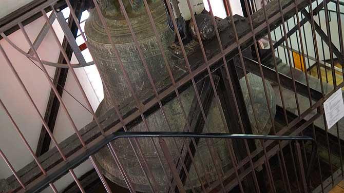 Die Glocke gehört auch zu den Sehenswürdigkeiten in Chemnitz