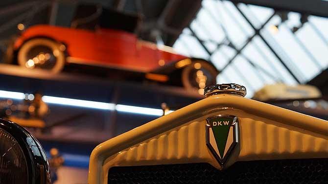 Ehemalige Automarke DKW