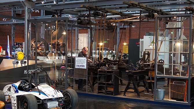 Ausstellung im Industriemuseum Chemnitz