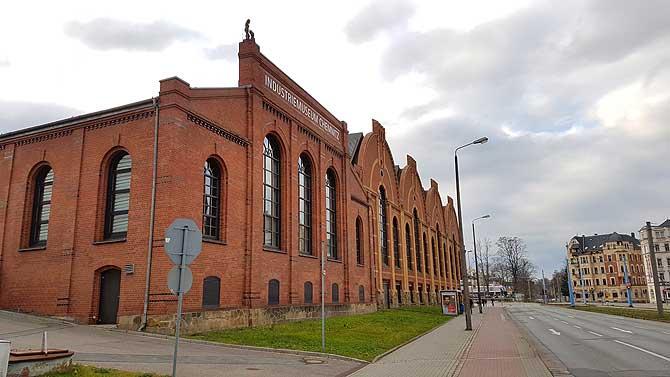 Tolles Gebäude, das Industriemuseum