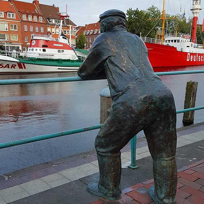 Delftspucker als Sehenswürdigkeit in Emden