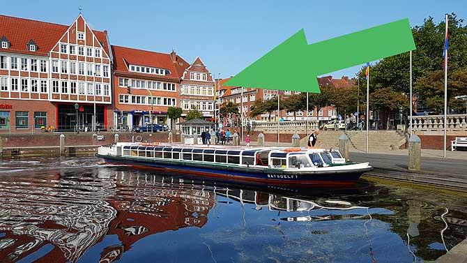 Hier findest du das Otto Huss in Emden