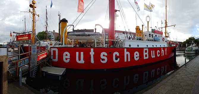 Das Feuerschiff Deutsche Bucht