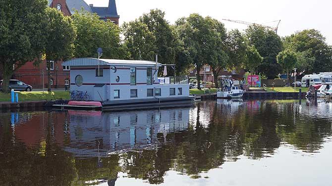 Hausboot für die Nordsee