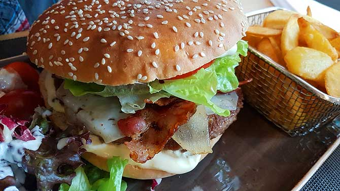 Club Sandwich im Hotel Upstalsboom