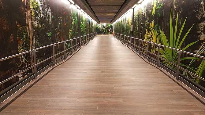 Eingang zu Amazonia
