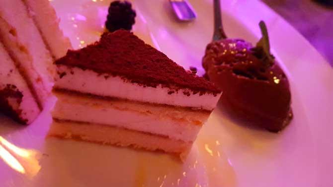 Dessert im Tropical Islands