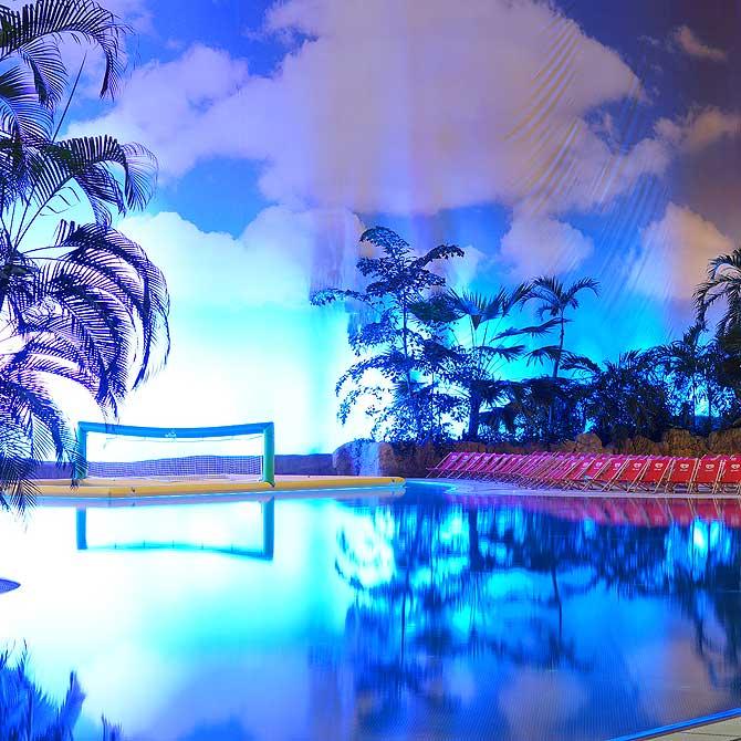 Ruhiger Pool