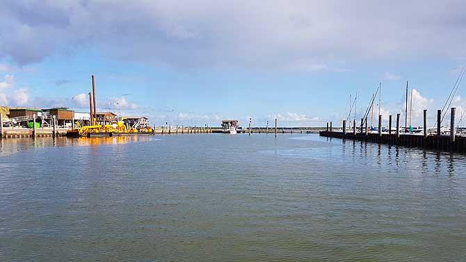 Hafen von Wangerooge