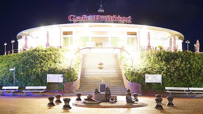 Cafe Pudding im Zentrum von Wangerooge