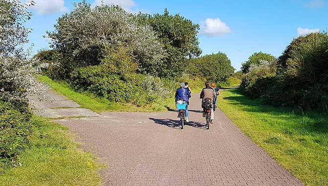 Radtour auf Wangerooge