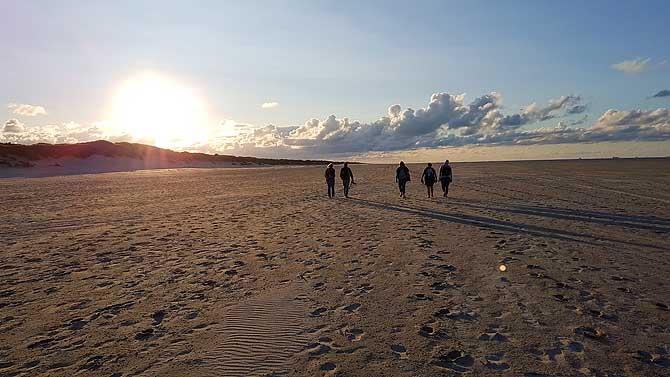 Sonnenuntergang am Oststrand