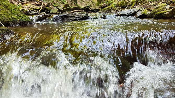 Kaskade durch das Brodenbachtal