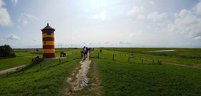 Deichspaziergang am Otto Turm