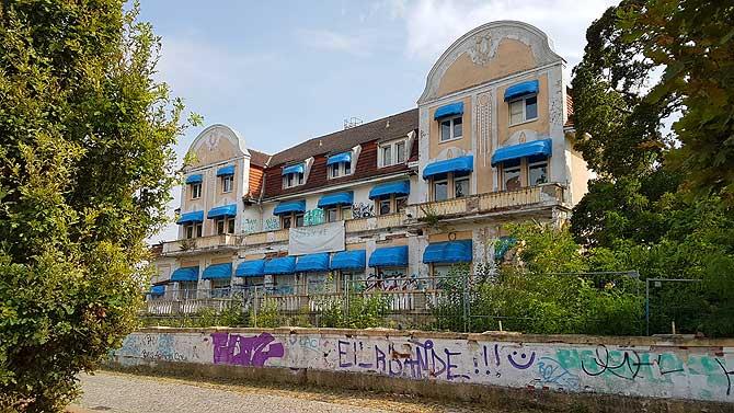 Ehemaliges Strandhotel