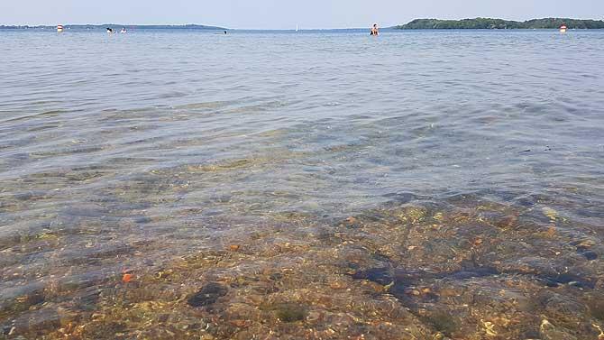 Klares, frisches Wasser