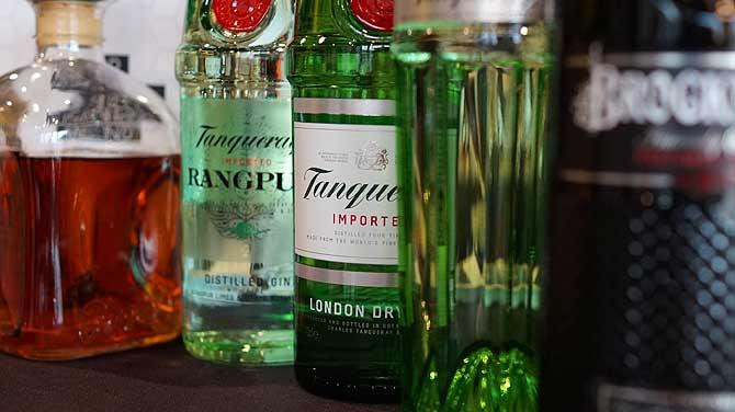 Tanqueray ist ein beliebter Gin