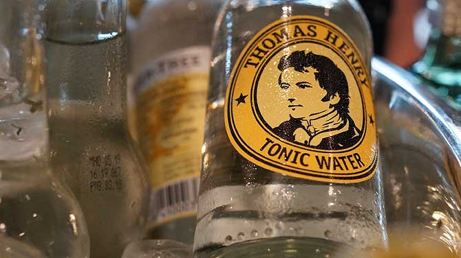Thomas Henry ist ein beliebtes Tonic Water
