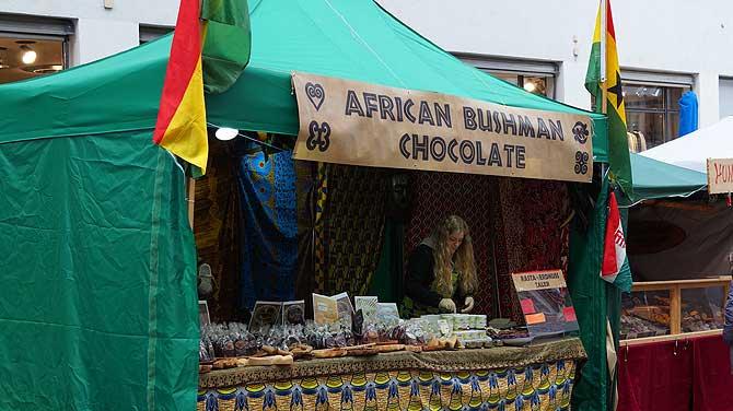 African Bushman Chocolate