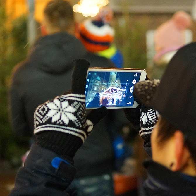 Der Weihnachtsmarkt in Chemnitz ist mehr als nur ein Foto wert