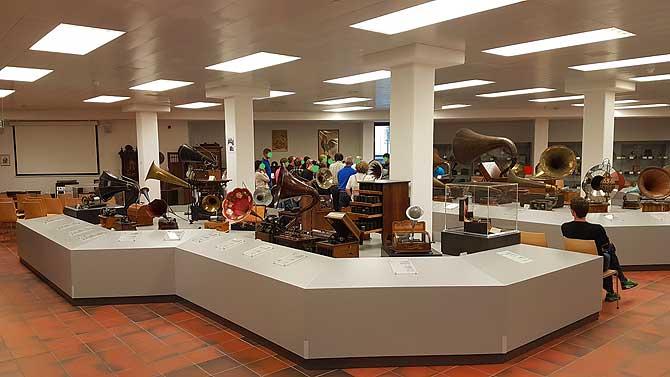 Ausstellung im Phonomuseum