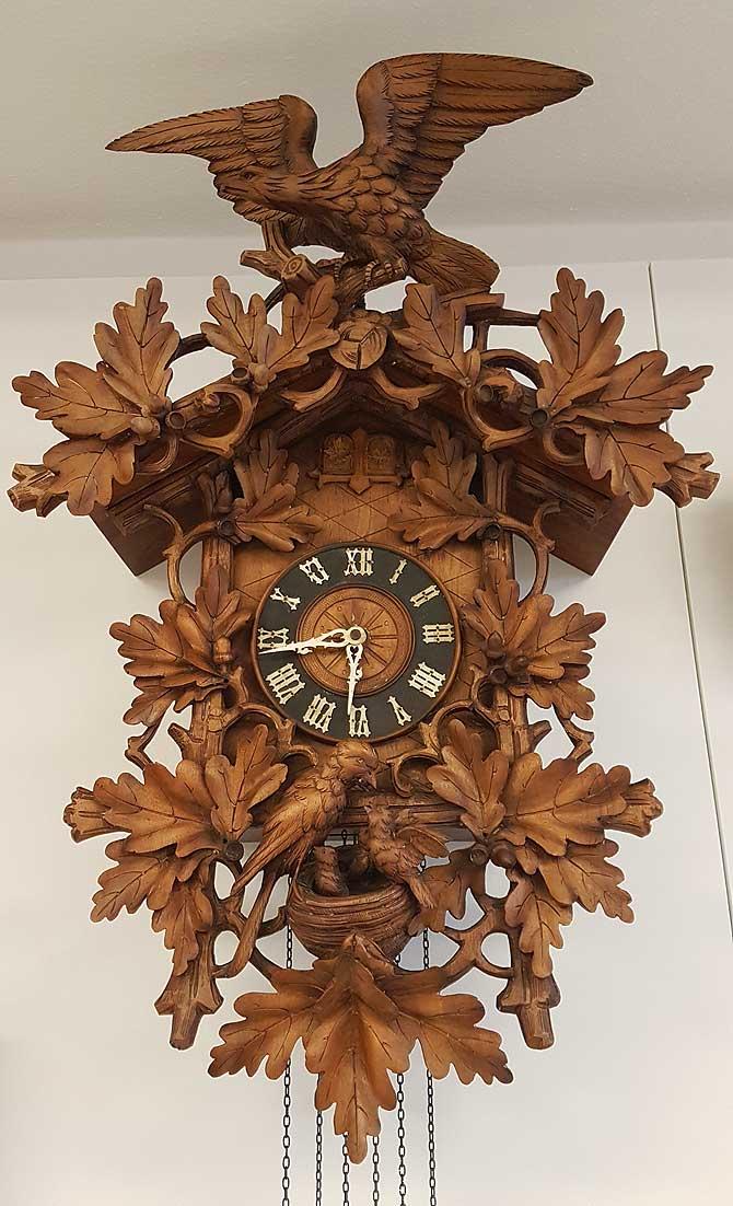 Uhrenwerk aus St. Georgen