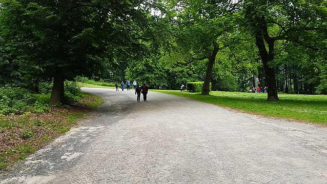 Anfahrt bzw. Weg zum Hermannsdenkmal