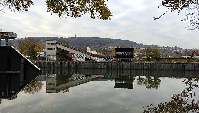 Traumhaftes Neckarufer