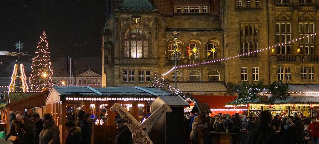 Der Chemnitzer Weihnachtsmarkt ist ein besonderer Weihnachtsmarkt in Deutschland