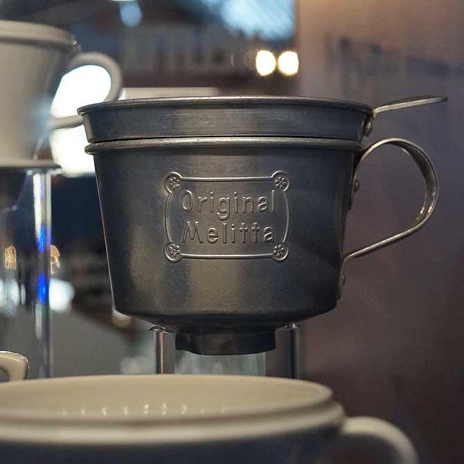 Melitta Kaffeefilter aus Alu
