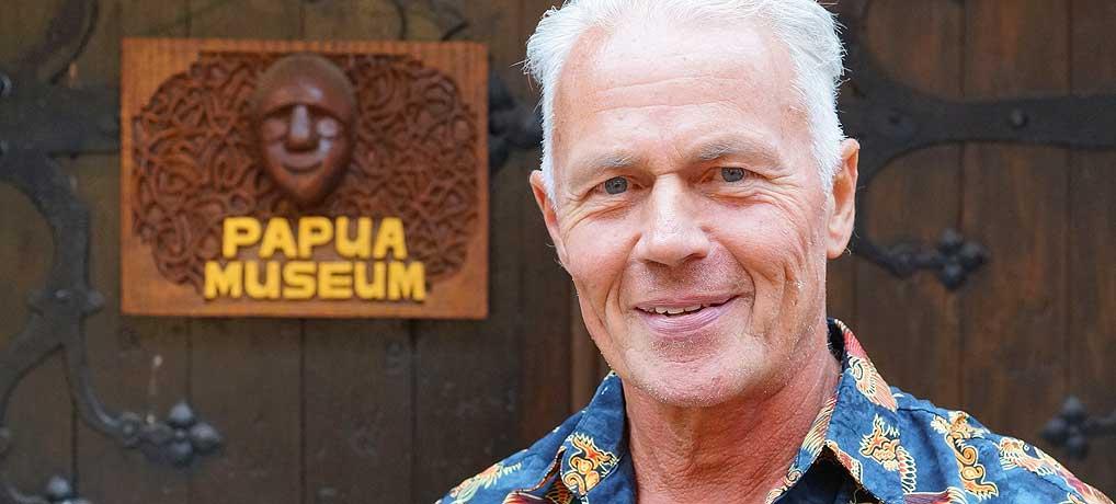 Werner Weiglein ist Gründer des Papua Museum in Gelnhausen