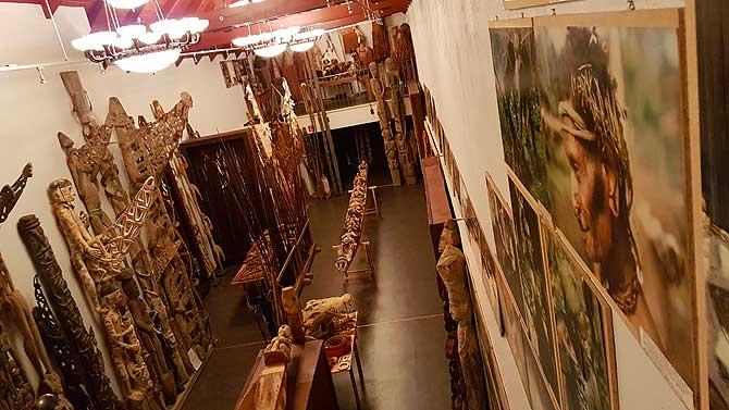Papua Ausstellung