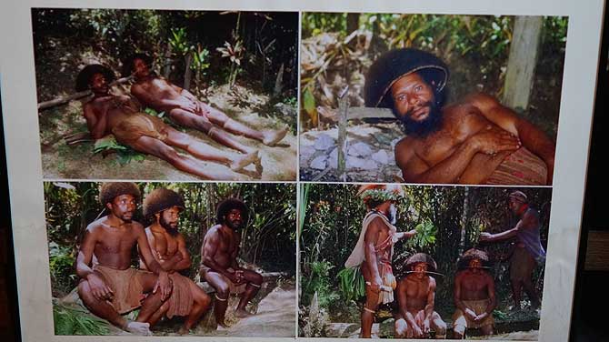 Indovolk aus Papua