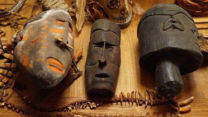 Papuanische Masken
