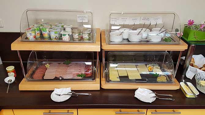 Biohotel Amadeus Schwerin Frühstücksbuffet